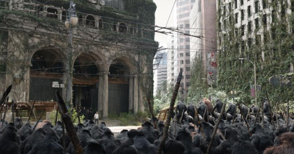 Dawn Of The Planet Of The Apes 2014 Log S Line